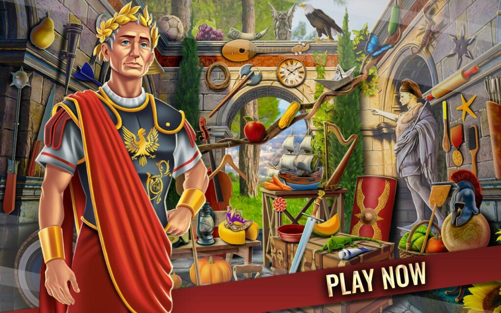 Ancient Rome Hidden Objects Roman Empire Mystery | Lory Apps