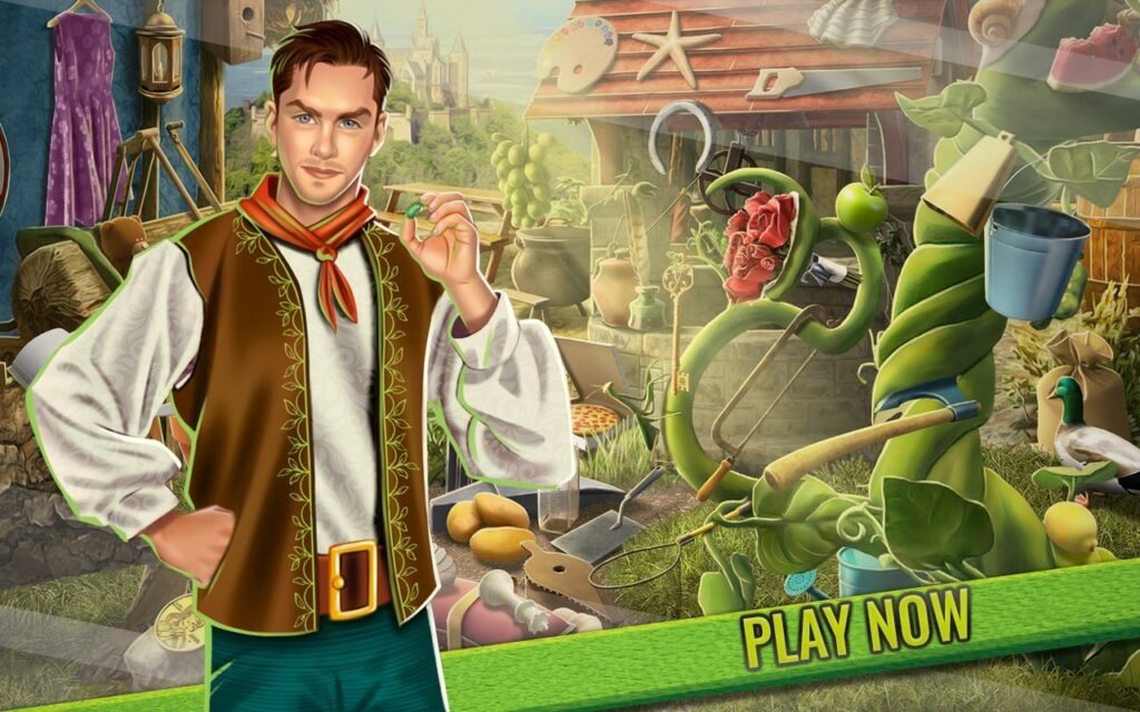 Jack and the Beanstalk Hidden Objects Game | Lory Apps