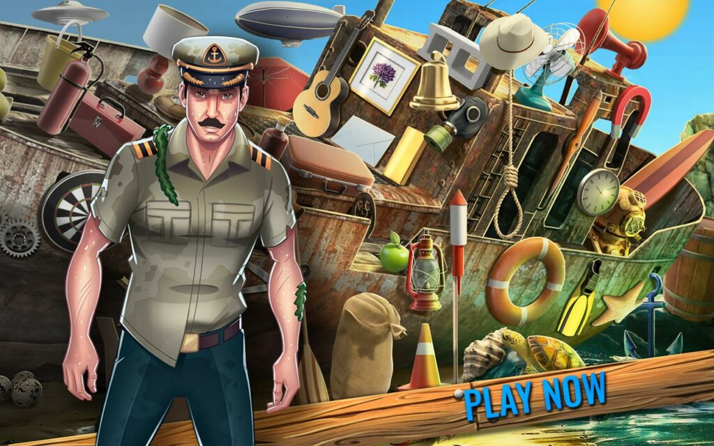 Shipwreck Hidden Artifacts - Hidden Objects Game | Lory Apps